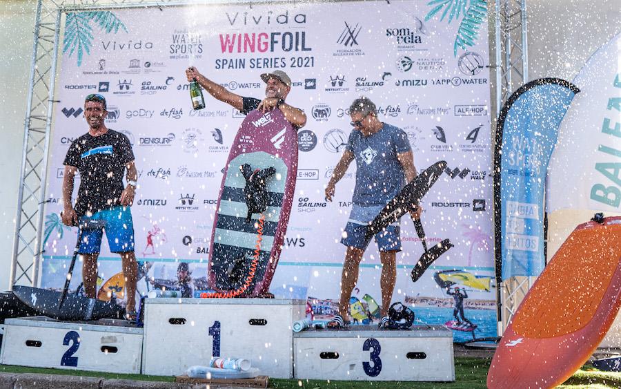 López, Barona y Ruisanchez vencedores de la Vivida WFSS 2021 Dénia
